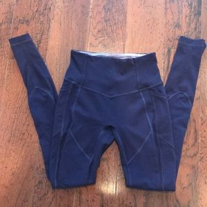 Lululemon All the right places ATRP plum leggings